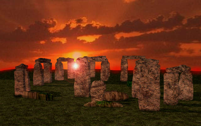 UkStonehenge-night-