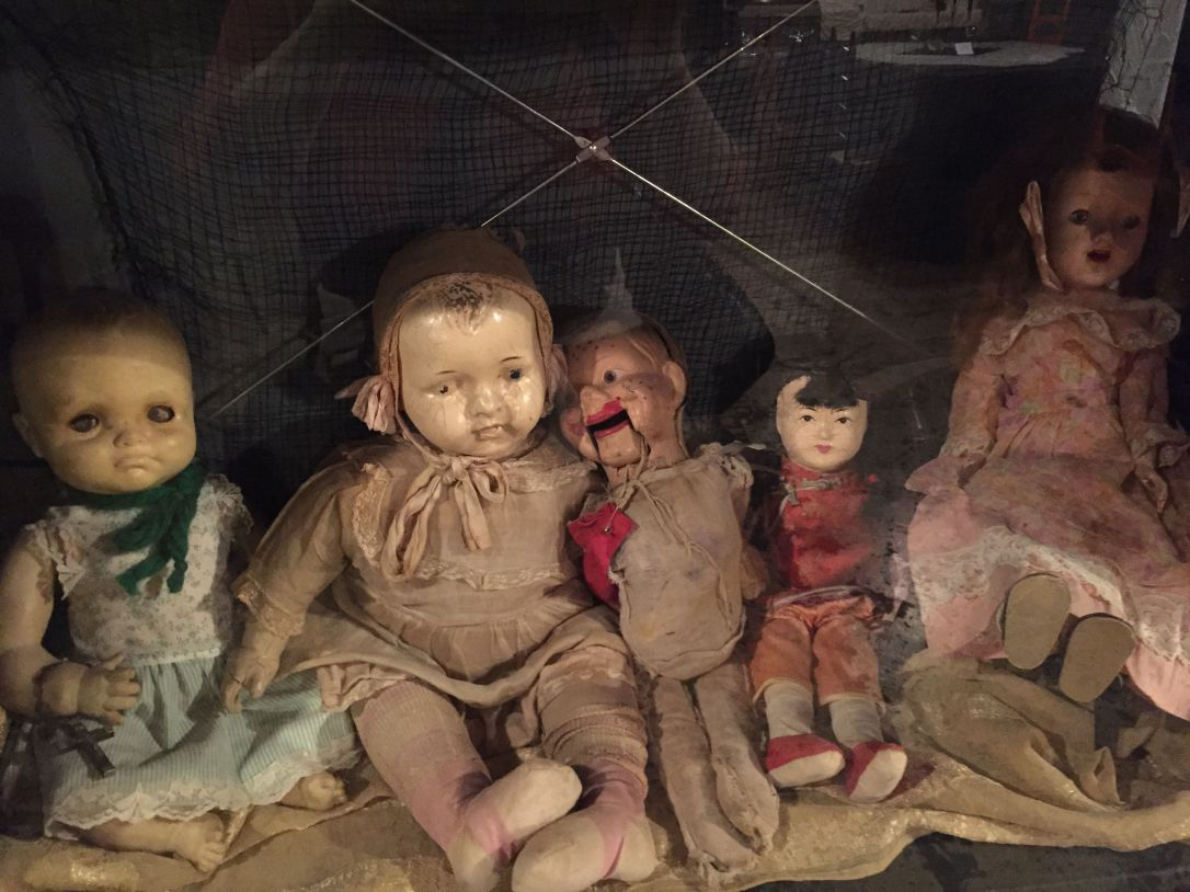 I don't know why anyone would give these to a child to play with. They seem designed to induce nightmares.